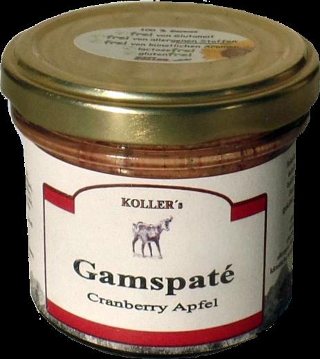 Gams Paté mit Cranberry Apfel