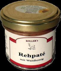 Rehpaté mit Waldhonig