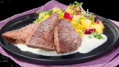 Rinder Tafelspitz in Meerrettich-Sahne-Sauce